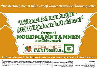 Weihnachtsbaum Berlin Lieferung.Tannenquelle De Weihnachtsbaum Handel Berlin Zehlendorf Steglitz